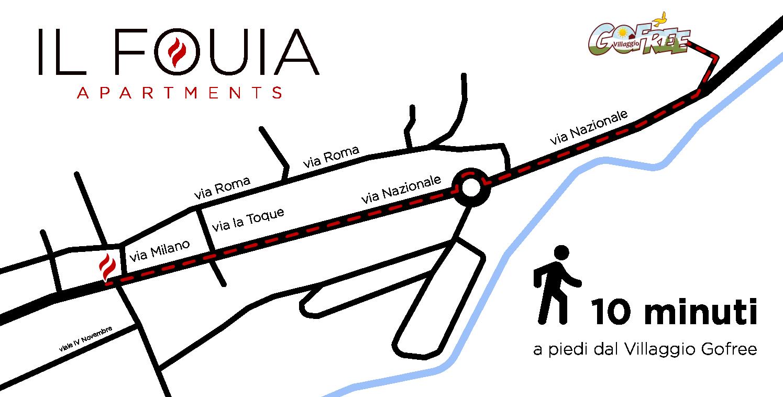 mappa appartamento-Il Fouia